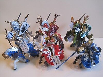 PAPO MOUNTED KNIGHTS: Weapon Master Knights, Kings & Horses (Please Choose)