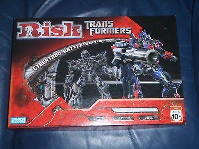 "Parker ""TRANSFORMERS"" Risk Board Game."