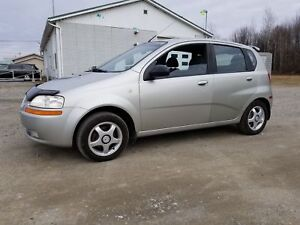 2005 Pontiac Wave Uplevel+INSPECTE+ABORDABLE+MAGS+TOIT OUV.++
