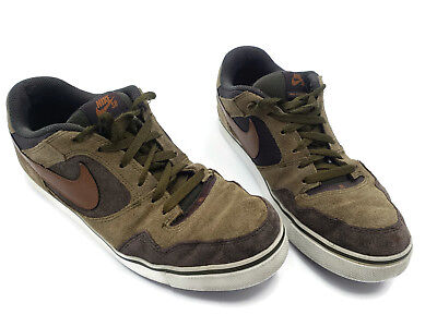 innovative design b1a28 b2933 Nike SB Zoom Air Paul Rodriguez 2.5 Skateboard Skate Shoes Brown 386613-301