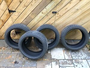 WINTER TIRES 225/40R18 92V XL **like new**