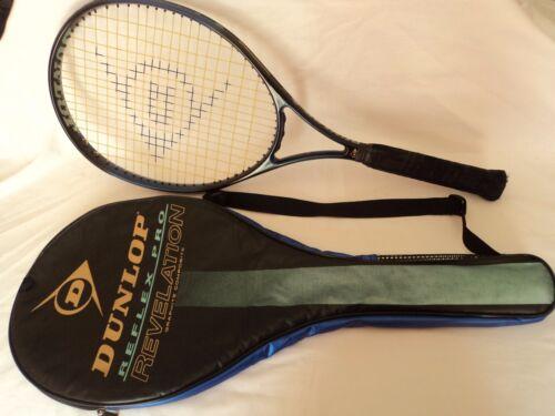 Dunlop Tour Pro Revelation Tennis racquet Graphite OS OVERSIZE  4 5/8 Cover Case
