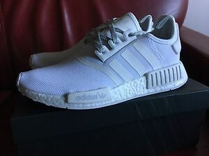Adidas NMD Triple White Reflective US8.5 Docklands Melbourne City Preview