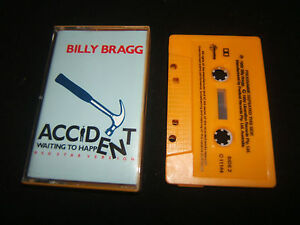 BILLY-BRAGG-ACCIDENT-WAITING-TO-HAPPEN-AUSTRALIAN-CASSINGLE-CASSETTE-TAPE