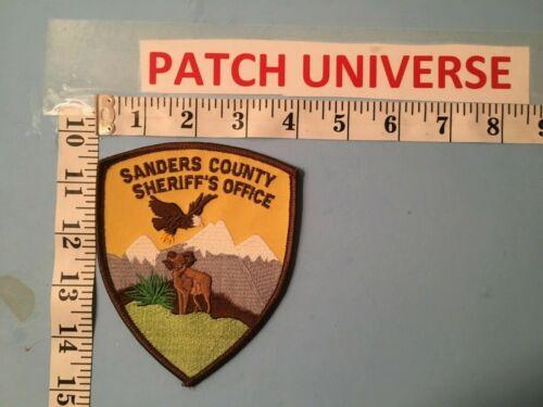 VINTAGE SANDERS  COUNTY MONTANA  SHERIFF SHOULDER  PATCH  J008