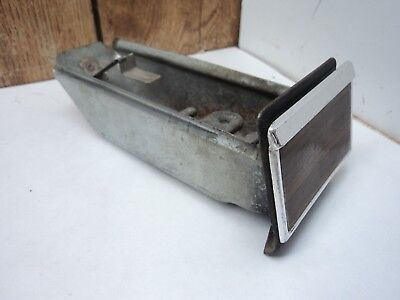 1966 Chevy Caprice Impala SS LH Drivers Side Dash Ashtray Wood Graine 1965?
