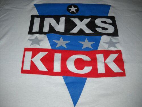 INXS KICK OFF AMERICA TOUR 1988 VINTAGE STAR BAND ROCK CONCERT T-SHIRT-XL-NEW