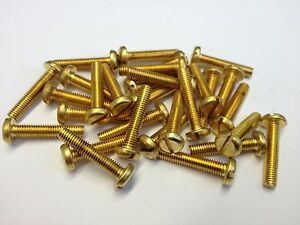 m5 brass machine screws