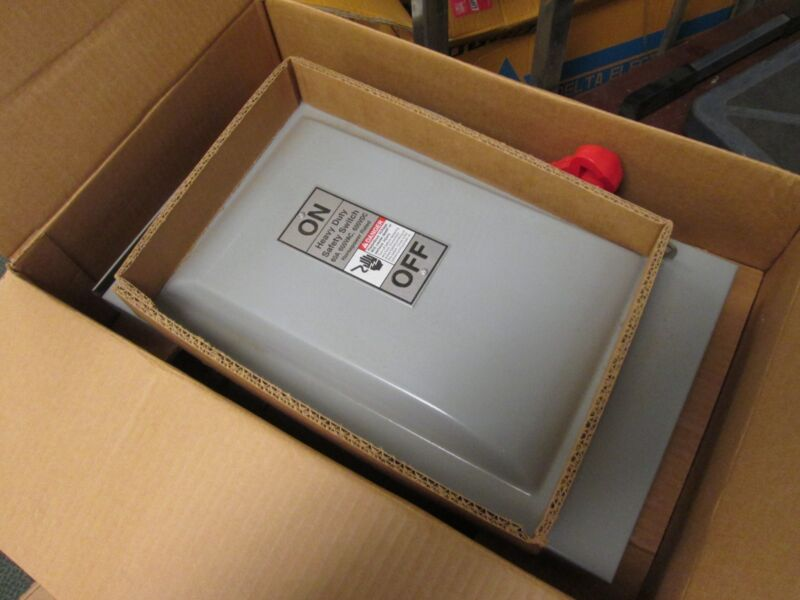 Siemens Fusible 3r Safety Switch Hf362r 60a 600v 3p 3r Enclosure New Surplus