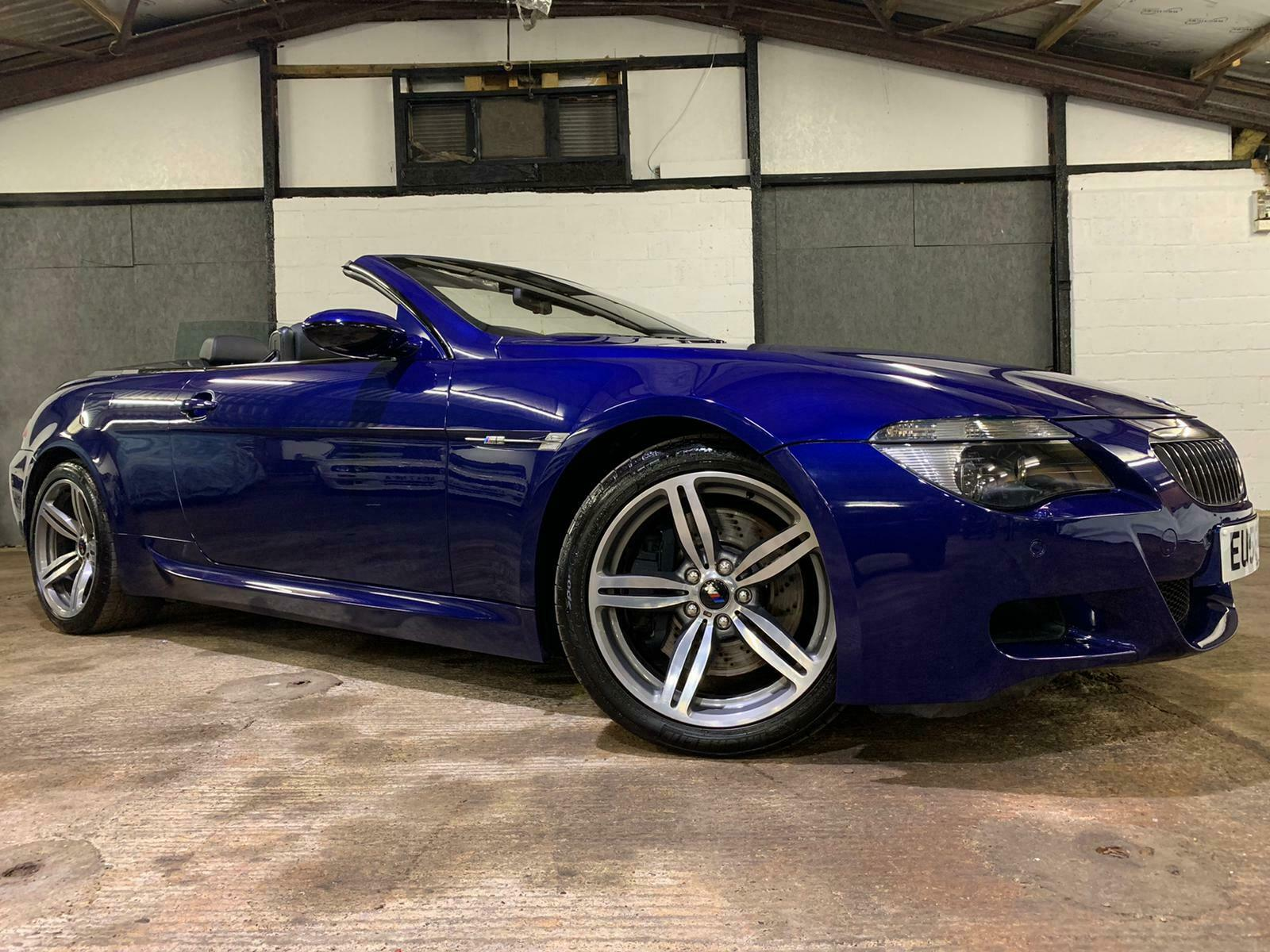 2007 BMW E64 ///M6 V10 CONVERTABLE * 507BHP * SMG * INTERLAGOS BLUE * SUPERB CAR