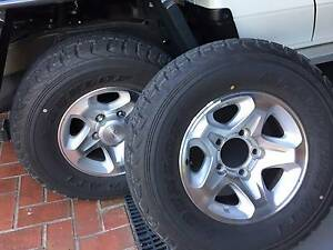 Toyota Land Cruiser 2017 GXL Rims & Tyres (x5) Mooroolbark Yarra Ranges Preview