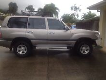 Toyota Landcruiser 100 Series GXL Dual Fuel Auto 2001 Bayview Heights Cairns City Preview