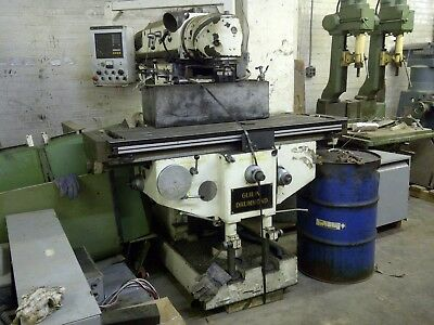 Vertical Milling Machine Huron-type All-angle Head Droguilin Drummond
