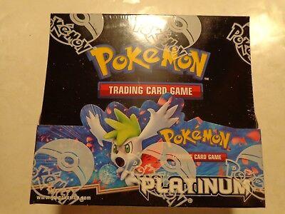 Pokemon Platinum Booster Box x1 Factory Sealed Pokemon Platinum Booster Box