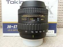 AS NEW Tokina 10-17mm f/3.5-4.5 Fish Eye Lens for Nikon Victoria Park Victoria Park Area Preview