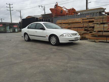 2001 Ford Falcon Sedan Caulfield North Glen Eira Area Preview