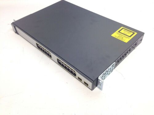 Cisco Catalyst Ws-c3750-24ps - Switch - Managed - 24 Ports 3750 Poe