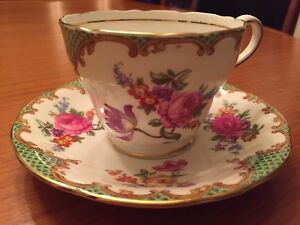 Aynsley Bone China teacup & saucer