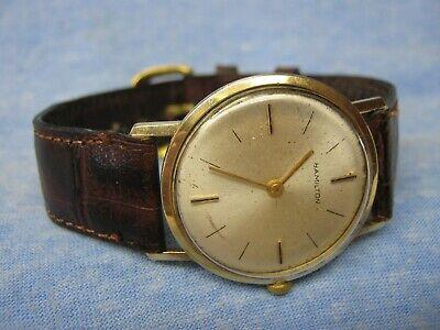 Men's Vintage HAMILTON 14K Solid Gold Mechanical Watch
