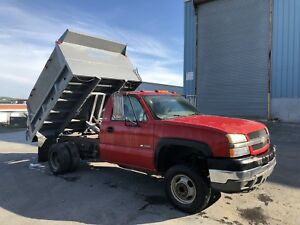 ****SOLD****. 2006 Chevrolet 3500 With Dump body