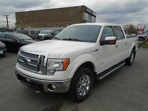 2012 Ford F-150 Lariat -LOADED LEATHER- WWW.PAULETTEAUTO.COM