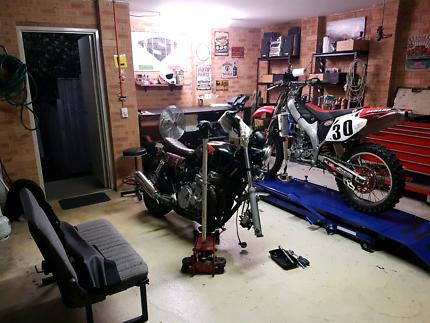 NSR Motorcycle repair