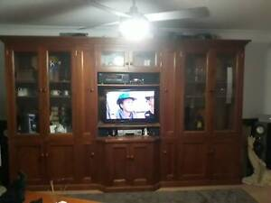 Solid Timber Wall Unit
