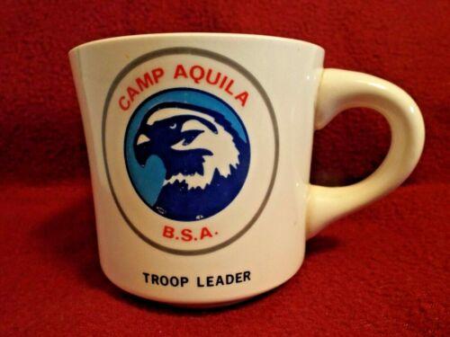 TROOP LEADER CAMP AQUILA  Boy Scouts of America Coffee Mug Cup