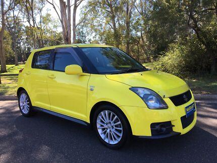2008 Suzuki Swift EZ Hatch Sport 5speed Manual Yellow
