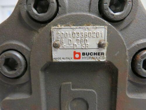 """BUCHER Hydraulic Gear Pump  # AP300/38D280     200103380201  """"NEW"""""""