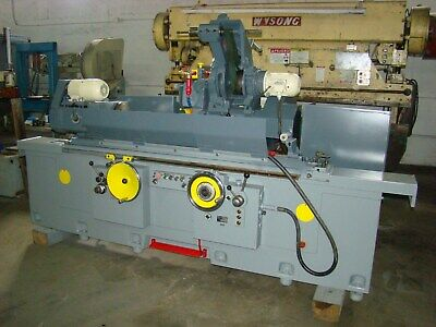 Kikinda Model C12-1100 14 X 44 Universal Cylindrical Grinder With Id Spindle