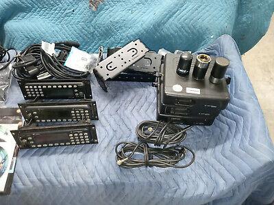 Lot Of 3 Motorola Mcs2000 M01ugn6pw6bn M01hx832w Vhf Uhf Radio 800mhz Acc
