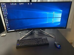38' Acer 75hz 3K Curved HDR ultra wide monitor. XR382CQK