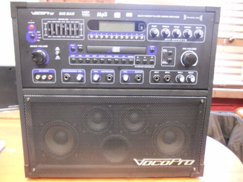 Vocopro Gig Man Multi-Format Player / Mixer Amplifier (JUL3807 DS397)