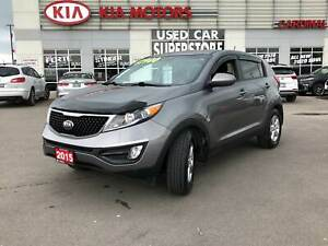 2015 Kia Sportage RARE MANUAL TRANSMISSION