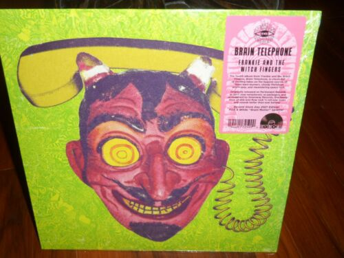 Frankie and the Witch Fingers Brain Telephone 2021 RSD LP Pink & White Splatter
