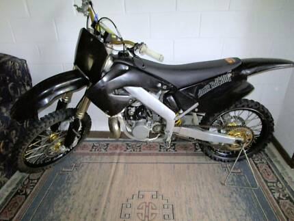 HONDA CR250 2001 RACING TRAIL BIKE GOLD, BLACK .GOES GREAT Mossy Point Eurobodalla Area Preview