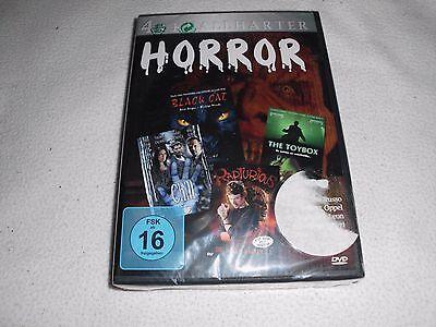 BEST OF HORROR - BLACK CAT / RAPTURI und 2 weitere Filme - DVD -  OVP ()