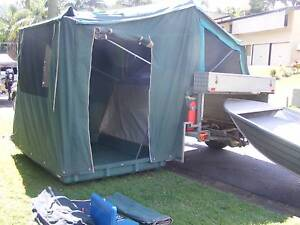 Camper Trailer with Boat and Motor The Gap Brisbane North West Preview