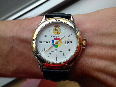 BLUMAR VINTAGE COLLECTION(1989) REAL MADRID TF-461G-AH Y121 WATCH NOS UHR MONTRE