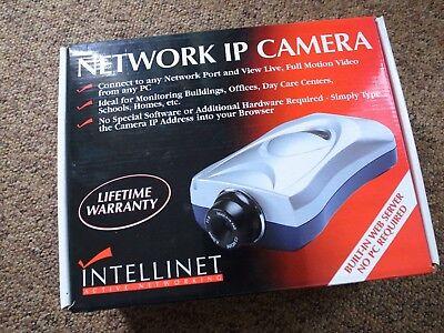 Intellinet Wired Network IP Camera