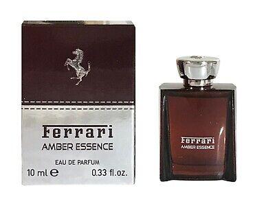 Miniature Mini Ferrari Amber Essence 10ml EDP Men Aftershave Perfume
