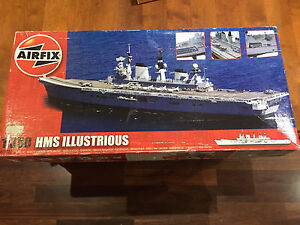 Airfix A14201 HMS Illustrious 1:350 Scale Warship Series 14 Model Kit Brooklyn Park West Torrens Area Preview
