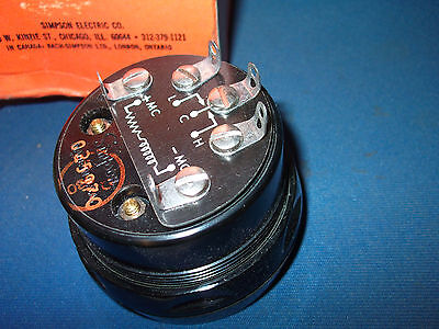 Qty-1 Simpson Volt Meter Vintage Collectible Original Packaging New