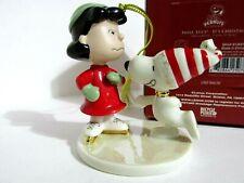 SNOOPY PEANUTS CHARLIE BROWN LENOX FINE CHINA CHRISTMAS ...