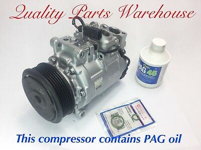2008 2016 Audi A3 A4 A5 A8 Q3 Q5 TT All road  Reman AC COMPRESSOR WWrty