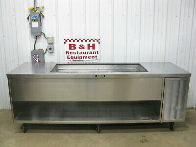 Delfield 8 Salad Bar Refrigerated Cold Well Buffet Prep Table Refrigerator 96