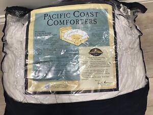 Pacific coast goose down queen size duvet