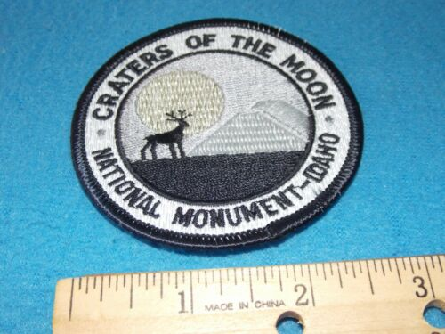 Craters of the Moon National Monument Idaho Patch - 3 INCH - NEW