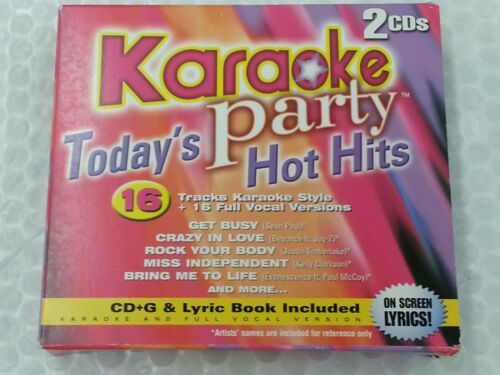 Karaoke Party! Karaoke 2 Disc Set Today